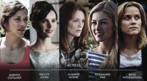 Objetivo OSCAR 2015: mejor actriz protagonista