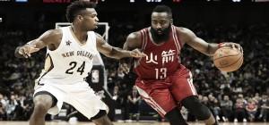Los Rockets fueron demasiado para los Pelicans