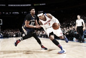 Anthony Davis no es suficiente contra unos compactos Knicks
