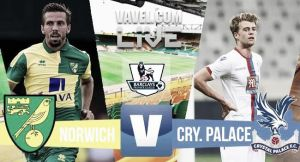 Score Norwich City vs Crystal Palace in Premier League 2015 (1-3)