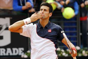 Atp Roma, Djokovic spreme un immenso Ferrer