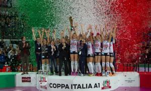 Volley, A1 femminile, Final Four di Coppa Italia - Ecco le semifinaliste