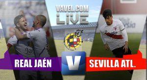 Real Jaén - Sevilla Atlético, Segunda B en directo online