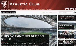El Athletic presenta su nueva web oficial