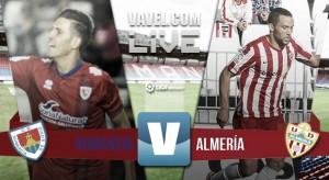 El Almería vuelve a saborear la derrota