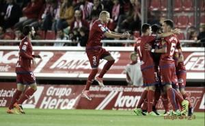 Pablo Valcarce impulsa al Numancia en una lección de fútbol