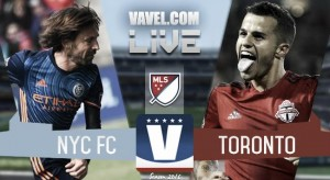 Score New York City FC 0-5 Toronto FC in Audi 2016 MLS Cup Playoffs