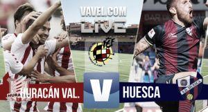Resultado Huracán Valencia vs Huesca en la final por el ascenso a la Liga Adelante 2015 (1-1)