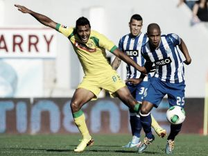 Resultado Paços de Ferreira - Oporto en la Liga Portuguesa 2015 (0-1)