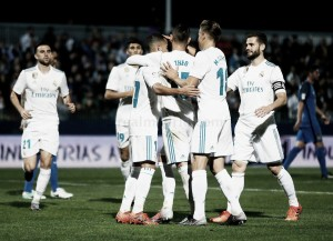Fuenlabrada – Real Madrid, puntuaciones del Madrid, partido de ida en dieciseisavos Copa del Rey 2017/18