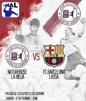 Naturhouse La Rioja-FC Barcelona Lassa: ¡Que empiece la fiesta!