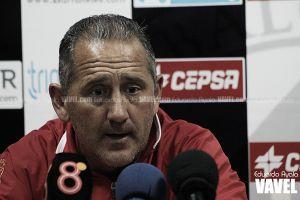 """Manolo Palomeque: """"Hay que marcar, pero también hay que saber jugar el partido"""""""