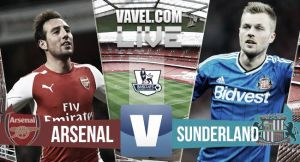 Resultado Arsenal vs Sunderland (0-0)