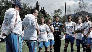 Colombia Femenina se prepara para los octavos de final