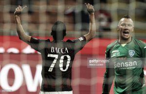 Carlos Bacca, la figura 'cafetera'de la Jornada 2 en la Serie A