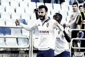 Fotos e imágenes del Real Zaragoza 1-0 Real Oviedo, jornada 41 de Segunda División