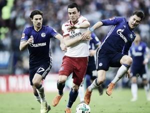 Após 15 rodadas sem vencer, Hamburgo bate Schalke de virada e ainda sonha com permanência