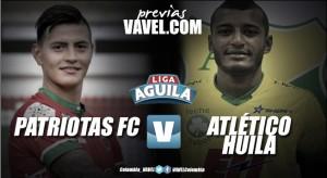 Previa Patriotas Boyacá - Atlético Huila: por un debut victorioso