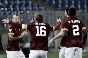 Roma vence o Cesena e assume a liderança da Serie A