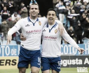 Fotos e imágenes del Real Zaragoza 2-2 CD Numancia, de la jornada 17 de Segunda División