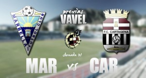Marbella - Cartagena: duelo de gigantes en caida