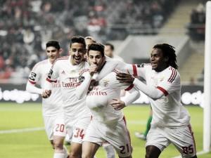 La eficacia del Benfica puede con un combativo Sporting de Braga