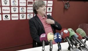 """Enrique Martín: """"Vamos a estar centrados en conseguir los tres puntos"""""""