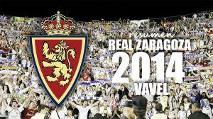 El 2014 del Real Zaragoza, en imágenes