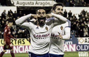 Fotos e imágenes del Real Zaragoza 3-0 CD Numancia, de la jornada 28 de Segunda División