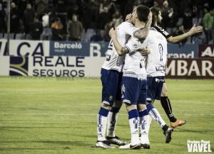 Fotos e imágenes del Real Zaragoza 1-0 Albacete Balompié, de la jornada 29 de Segunda División