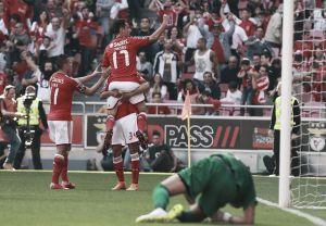 Un arrollador Benfica no tuvo piedad de Académica