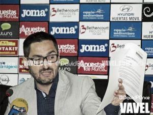 """Paco Belmonte: """"El objetivo es, ha sido y será sacar al FC Cartagena adelante"""""""