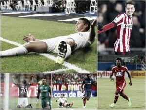 Cinco convocados a la Selección Colombia anotaron este fin de semana