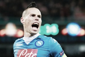 "Hamsik wanting to ""win the scudetto"" and have a ""big party with fans"""