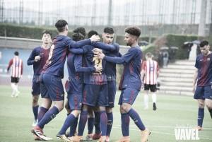 FCB Juvenil B: el campeón impone su ley
