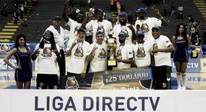 Águilas de Tunja, campeón de la Liga de Baloncesto