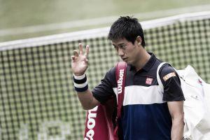 Nishikori withdraws from Wimbledon