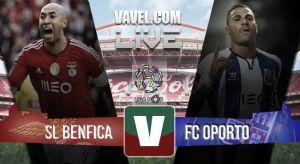 Benfica vs Porto en vivo y en directo online en la Liga Portuguesa 2015