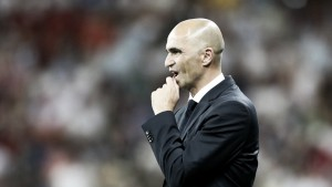 """Roberto Martínez: """"Hay que centrarse en los jugadores, su concentración y su deseo"""""""