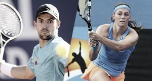 Definidos los rivales de Giraldo y Duque en el Australian Open