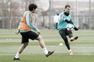 El Madrid se prepara para el Girona