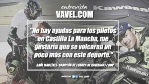 """Raúl Martínez:""""Vendo la moto porque tengo que pagarla"""""""