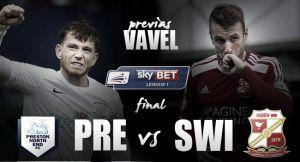 Preston North End - Swindon Town: por un hueco en Championship