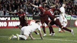 Serbia - Portugal: el partido de la desconexión