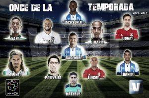 Once ideal de la Liga Portuguesa 2014/15