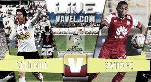 Resultado Colo Colo vs Independiente Santa Fe (0-3)