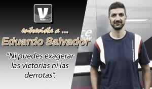 """Entrevista. Edu Salvador: """"Ni puedes exagerar las victorias ni las derrotas"""""""