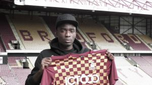 Bradford complete signing of Manchester City youngster