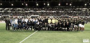 Fotos e imágenes del partido homenaje a Fernando Cáceres