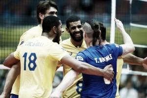 Com atuação de 'gala', Brasil vence Irã e assume liderança da Copa dos Campeões de Vôlei